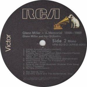 MILLER GLENN - MEMORIAL R2