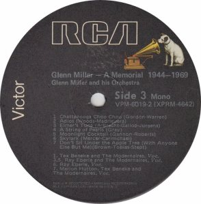 MILLER GLENN - MEMORIAL R3