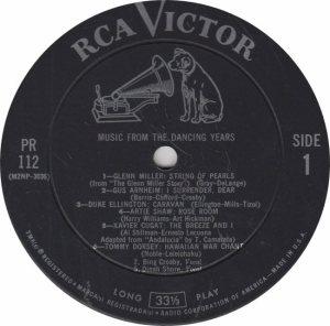 MILLER GLENN - RCA 112 - RA