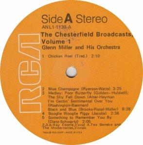 MILLER GLENN - RCA 1139 - A