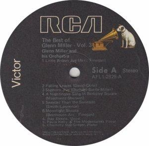 MILLER GLENN - RCA 2825 - A