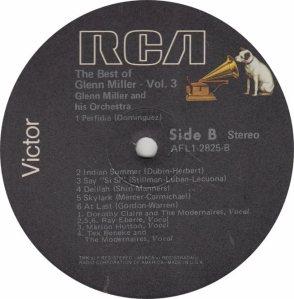 MILLER GLENN - RCA 2825 - B