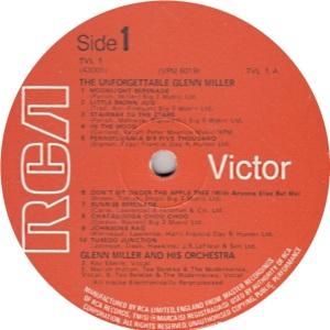 MILLER GLENN - RCA 43001 R