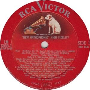 MILLER GLENN - RCA 6088 R