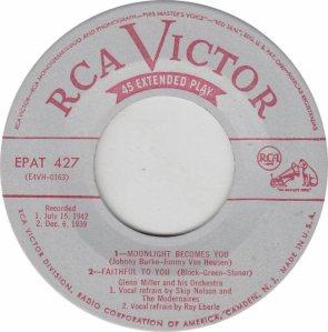 MILLER GLENN - RCA EP 427 2
