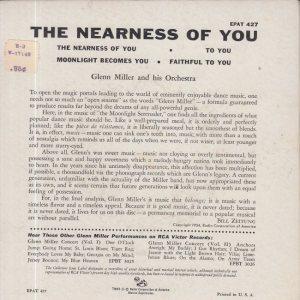 MILLER GLENN - RCA EP 427 4