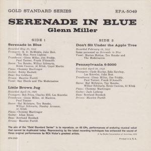 MILLER GLENN - RCA EP 5049 - B