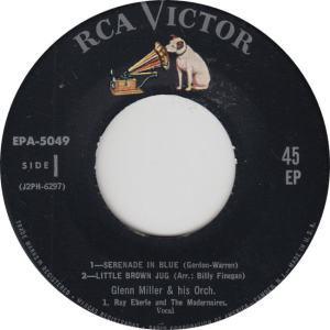 MILLER GLENN - RCA EP 5049 - C
