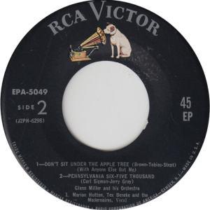 MILLER GLENN - RCA EP 5049 - D