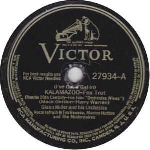 MILLER GLENN - RCA VICTOR 27934 - 42 A