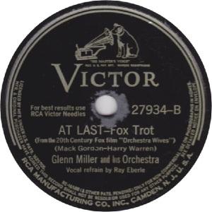 MILLER GLENN - RCA VICTOR 27934 - 42 B