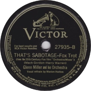 MILLER GLENN - RCA VICTOR 27935 - 42 B