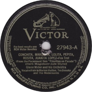 MILLER GLENN - RCA VICTOR 27943 - 42 A