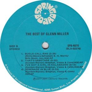 MILLER GLENN - SPRINGBOARD B_0001