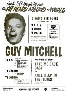 Mitchell, Guy - 01-57 - Singing the Blues