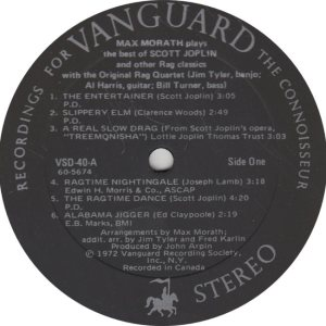 MORATH MAX - VANGUARD 39-40