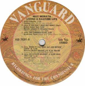 MORATH MAX - VANGUARD 79391 - B