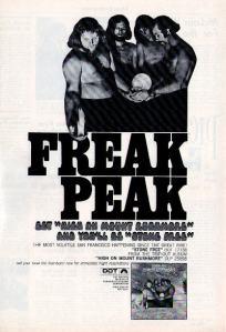 Mount Rushmore - 1969 BB - Freak Peak