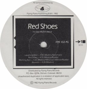 MULLINS ROB - RED SHOES 102