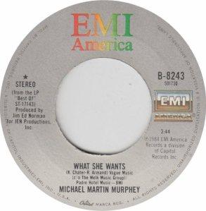 MURPHEY MICHAEL - EMI 8243 - 12-84 #8