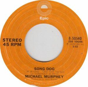 MURPHEY MICHAEL - EPIC 50540 - NEW 78 A
