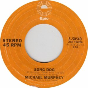 MURPHEY MICHAEL - EPIC 50540 - NEW 78 A