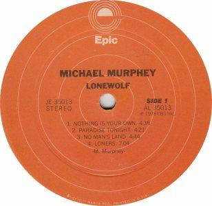 MURPHEY, MICHAEL M - EPIC 35013 - RA