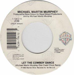 MURPHEY MICHAEL - WB 19412 - NEW 3-91 #74 A