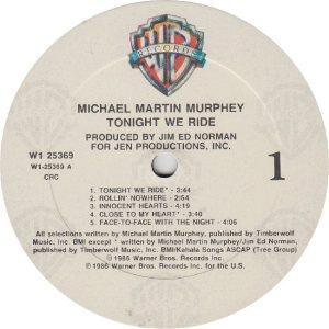 MURPHEY MICHAEL - WB 25369 - RA