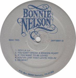 NELSON BONNIE - BN 16041 RB