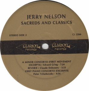 NELSON, JERRY - CLARION 2266 B