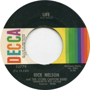NELSON RICK - DECCA 45 LIFE