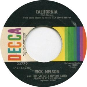 NELSON RICK - DECCA 45 LIFEB