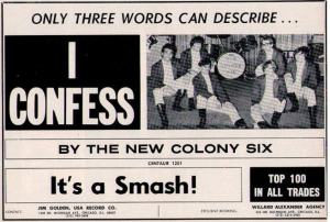 New Colony Six - 1966 BB - Confess