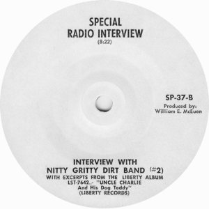 NITTY GRITTY DIRT BAND - LIBERTY 37 DJ - D