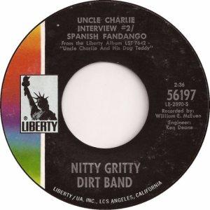 NITTY GRITTY DIRT BAND - LIBERTY 56197 B