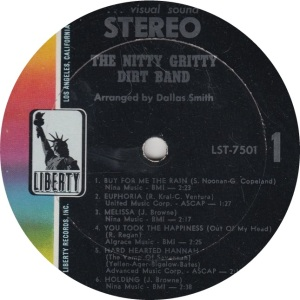 NITTY GRITTY DIRT BAND - LIBERTY 7501 R