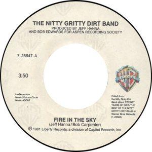 NITTY GRITTY WB ASPEN 28547 A 1986