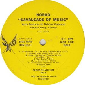 NORAD COMMAND BAND - COL 6512