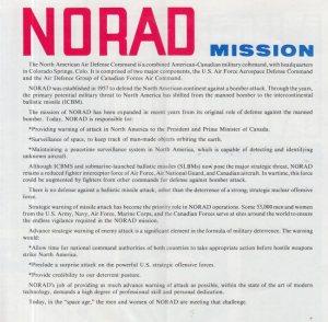 NORAD COMMAND BAND - NORAD - BOOK B