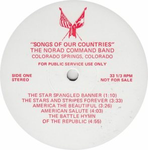 NORAD COMMAND BAND - NORAD - RA