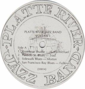 PLATTE RIVER JAZZ BAND - PRJB 33014 - RA