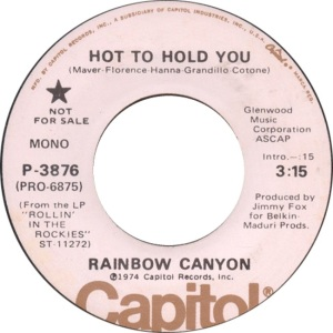 RAINBOW CANYON 45 3876 A