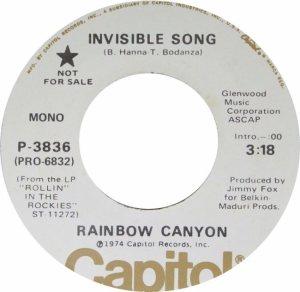 RAINBOW CANYON 45 A