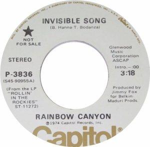 RAINBOW CANYON 45 B