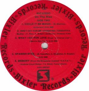 RICARDO - BIXLER 1 - RB