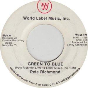 RICHMOND PETE - WORLD LABEL 379
