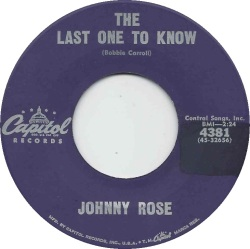 ROSE JOHNNY CAP 4381 A
