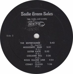 SADIE GREEN SALES - STACKOLEE - RB