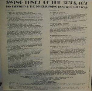 SADOWSKY LP B